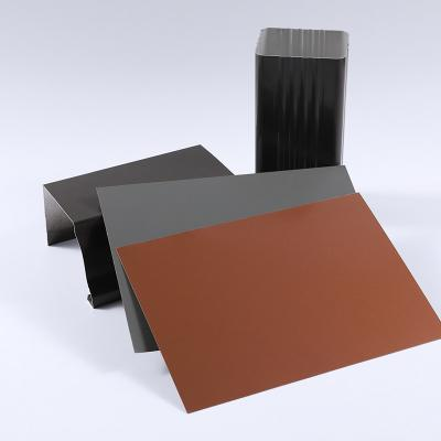 manufacturer supply directly pre-painted aluminium sheet
